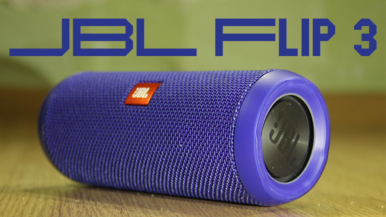 Jbl flip 3 youtube for Housse jbl charge 2