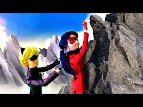 Видео про Куклы Леди Баг и Супер Кот: в пещере Дракона! Игры в больницу и доктор Ау