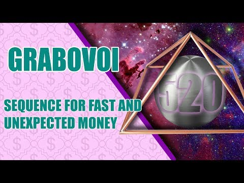 520 Sequence For Fast and Unexpected Money - Grigory Grabovoy