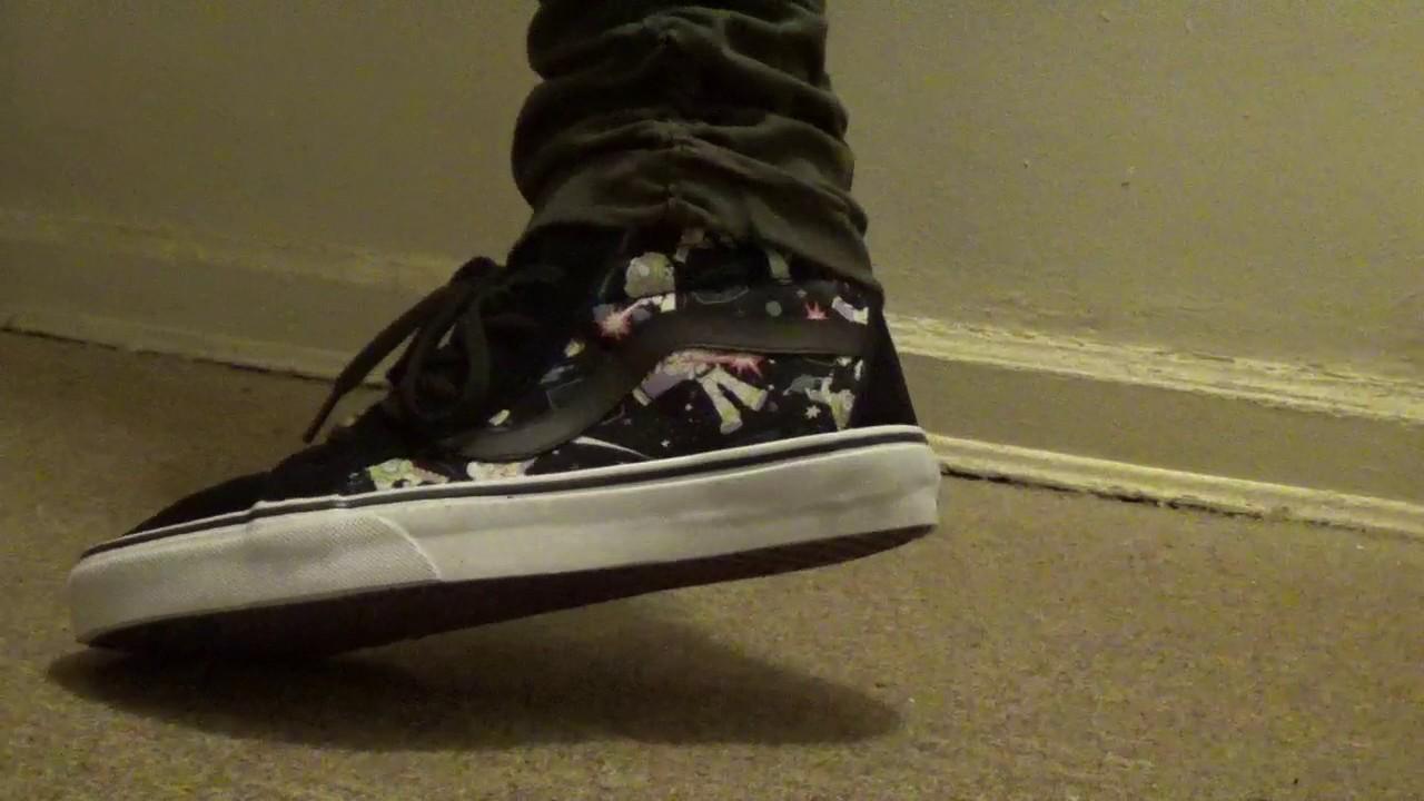 Vans X Toy Story Buzz Lightyear On Feet Youtube