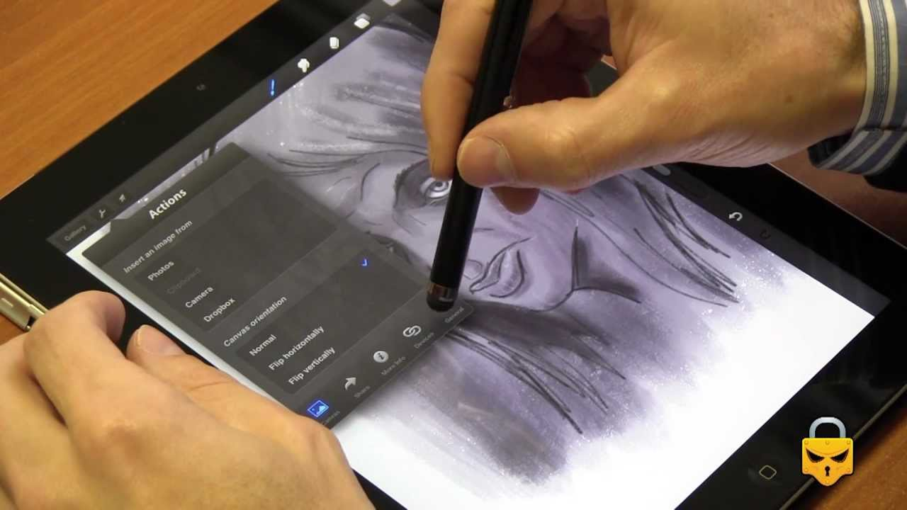Procreate review: -- Sketch, paint, create!!! - YouTube