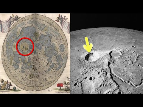 The First Ancient Highly-Detailed Maps of the Moon