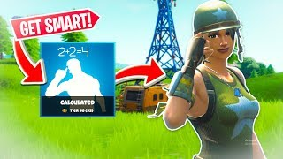 How to be a SMART FORTNITE PLAYER! How to get better at fortnite! Fortnite tips!