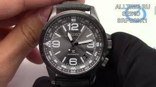 Обзор. Японские механические наручные часы Seiko SRPC29K1
