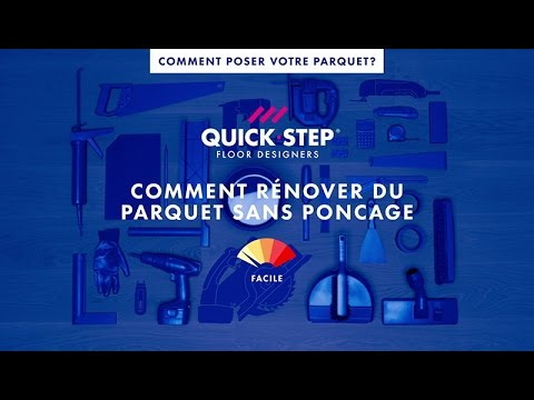 comment r nover du parquet sans pon age tutoriel quick step youtube. Black Bedroom Furniture Sets. Home Design Ideas