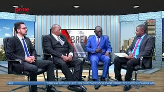 Prime Television Zambia Live Broadcast with Burak Unal, Dr. Mazhandu and Dr. Kachaka