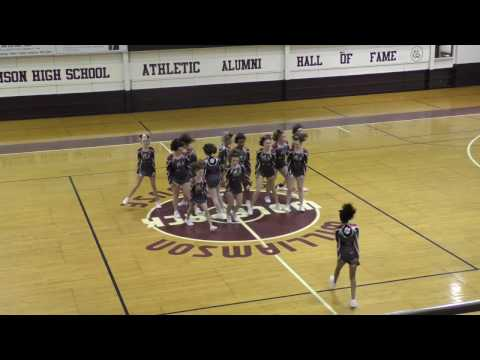 2016 Williamson Middle School - Mingo County Cheer Competition