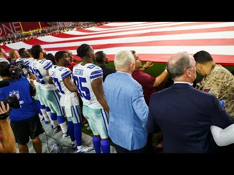 """Jerry Jones: Players Who """"Disrespect the Flag"""" Will Sit 