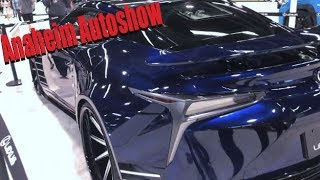 My first time at autoshow (Anaheim Auto show)