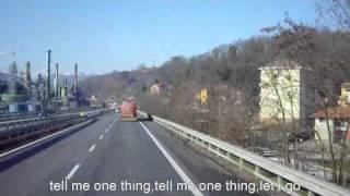 (Radiohead LURGEE lyrics)Genova Serravalle video speed 1000%.