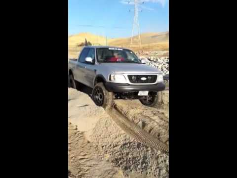 F150 Carnegie sand pit in reverse