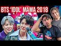 BTS IDOL - 2018 MAMA in Hong Kong COUPLES REACTION! 방탄소년단