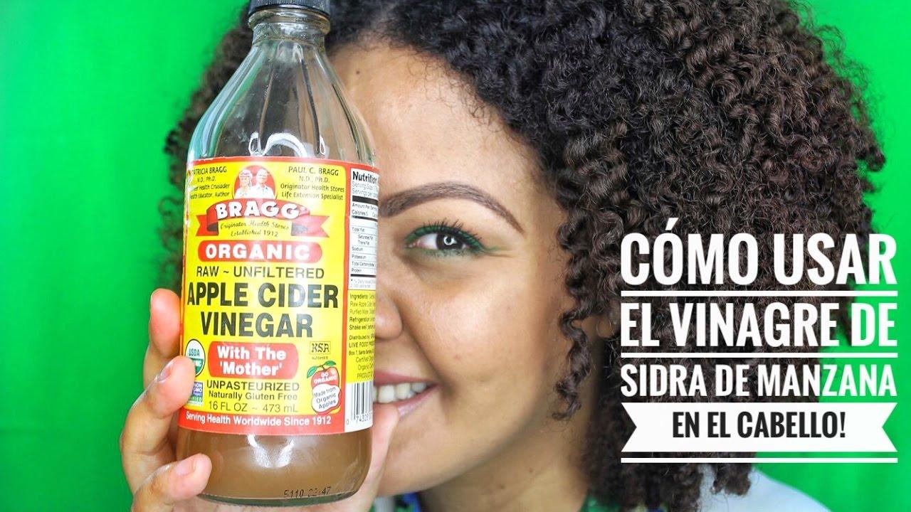 Ladrillo puño Puede soportar  Cómo usar el Vinagre de Sidra de Manzana en el Cabello Natural! - YouTube
