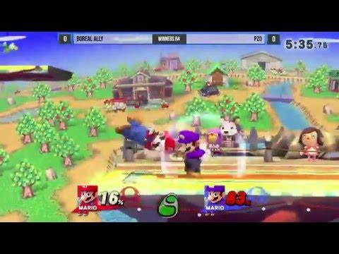 SFW #20: Boreal Ally (Mario) vs PzO (Waluigi)