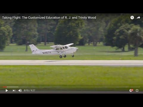 Taking Flight: The Customized Education of R. J. and Trinity Wood