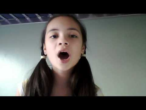 10 year old girl singing celine dion my heart will go on