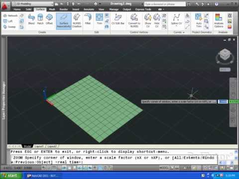 AutoCAD 3D - Learn Setup Position Manipulate Objects 3D Space UCS x,y,z