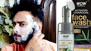 Wow Activated Charcoal Foaming Facewash || Anti Pollutants & Dirt | Honest Review | Mr. Bagga