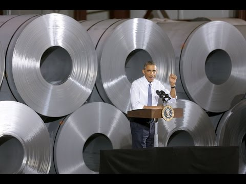 The President Holds a Town Hall on Manufacturing