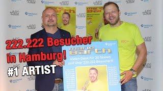 Über 222.222 Besucher in Hamburg. Mega! | Mario Barth