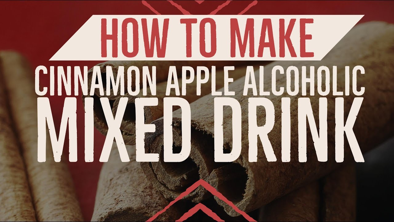 How To Make Cinnamon Apple Alcoholic Mixed Drink- (Fireball & Apple Juice)