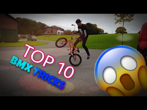 TOP 10 EASY BMX TRICKS TO LEARN (BEGINNER)
