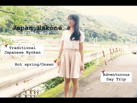 Japan Hakone Travel Vlog | Hot Spring | Japanese Onsen Ryokan & Adventurous Day Trip | 日本 箱根