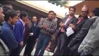 साउदीमा दूतावासको आश्रयमा बसेका ५३ जना कामदारले 'एक्जिट भिसा' पाए