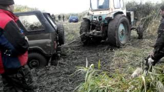 УАЗ 469 або як втопити по п'яні машину на риболовлі. ч. 3