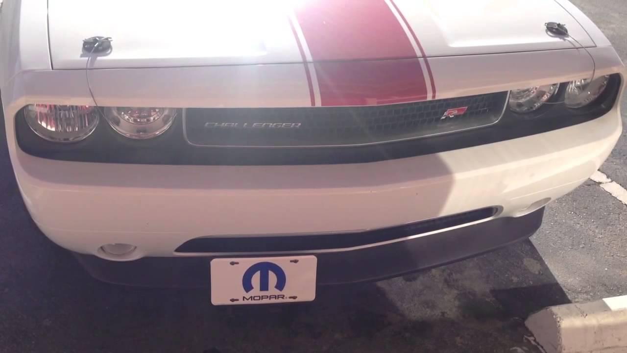 dodge challenger hideaway license plate frame youtube - Dodge License Plate Frame