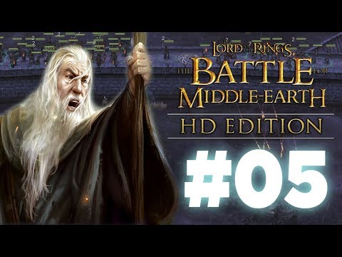 Theoden King Stands Alone! BFME1 HD Edition - Episode 5