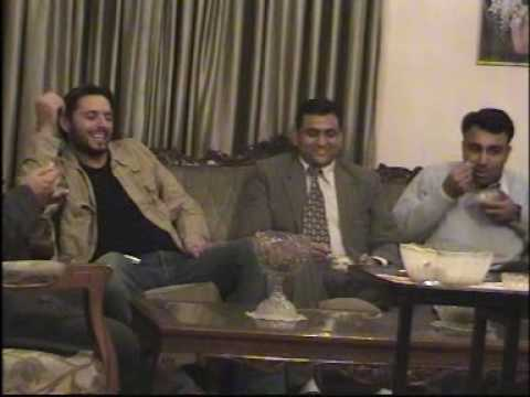 AFRIDI AND AKHTAR WITH MADHUSUDAN AND INDIAN GUESTS