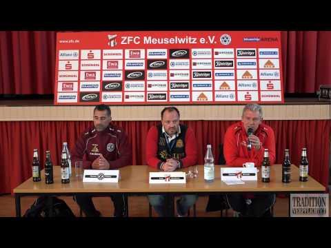 24.Spieltag ZFC Meuselwitz - BFC Dynamo Pressekonferenz in FULL HD