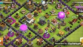 Barbar král jede na level 10! Clash of clans cz