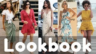 New Trendy Dresses / Outfits for Summer 2018 Lookbook Fashion | Women Outfit Ideas