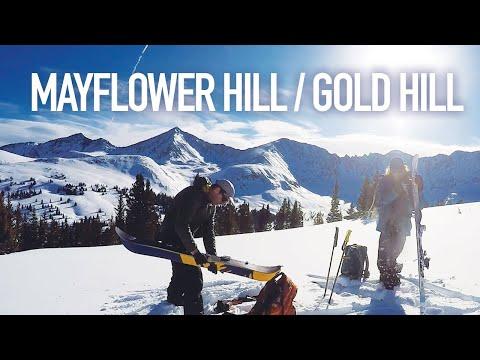 Bluebird Backcountry Laps - Mayflower Hill & Gold Hill - Colorado