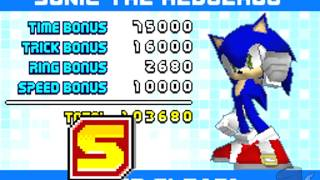 Sonic Rush - Leaf Storm S-Rank (Sonic - Act 1/Act 2/Boss)