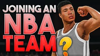 WHICH NBA TEAM DO WE SIGN WITH!? CREATING OUR PLAYER! 2K20 MyCareer Series 2 Ep.1