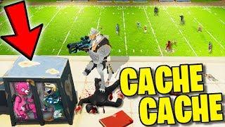 UNE CACHETTE MORTELLE !! (Cache Cache Fortnite)