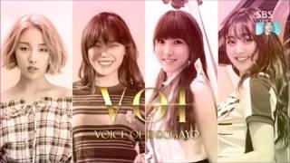 Video [MP3] V.O.I - U Go Girl (Voice of Inkigayo) Yuju GFRIEND, Suhyun AKMU, Jihyo TWICE and Baek Ah Yeon download MP3, 3GP, MP4, WEBM, AVI, FLV Juni 2018
