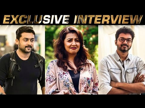 Both Vijay and Suriya are Emotional Heroes - Nikki Galrani Opens Up!