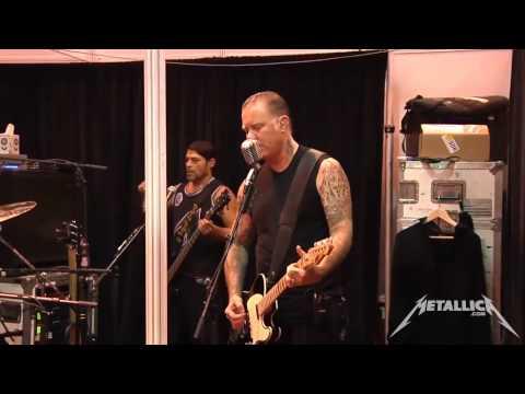 Metallica - Unforgiven II Live 2014 (Tuning room)