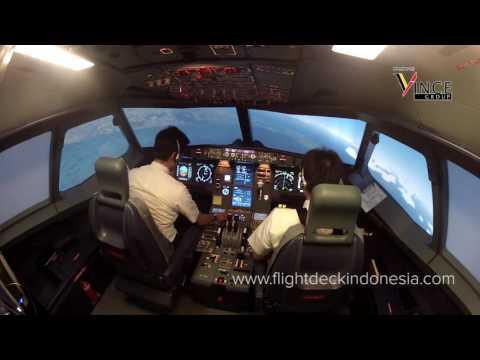 Flight Deck Indonesia - Emergency Descent - Vincent Raditya Batik Air & FDI