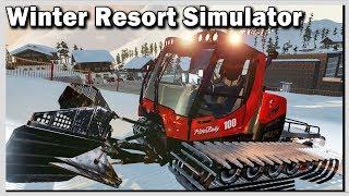 WINTER Resort SIMULATOR Preview (1/2) Mit der PISTENRAUPE durchs Tutorial