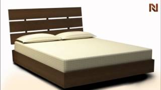 Nexera Nocce Queen Size Bed & Headboard 401219