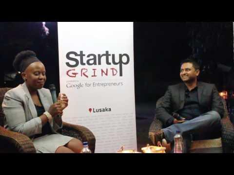 Bejoy Nettikadan (NetOne) at Startup Grind Lusaka