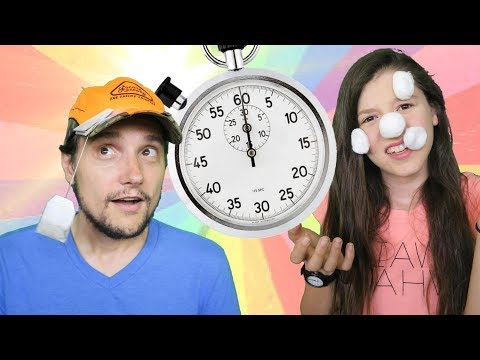 Crazy Family Minute to Win it Challenge