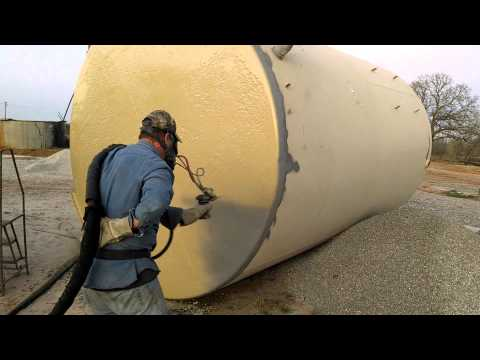 Heavy Duty Painting oil tank restoration part 2