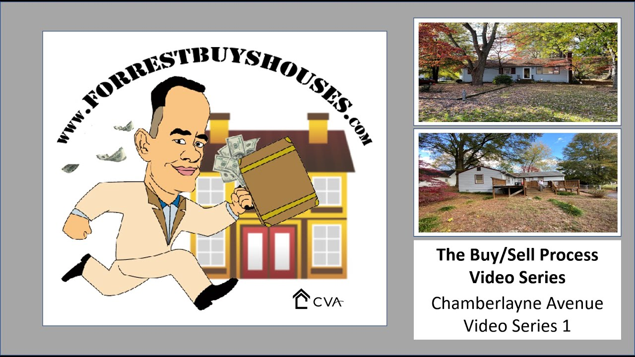 The Buy/Sell Process Video Series - Chamberlayne Ave Series 1