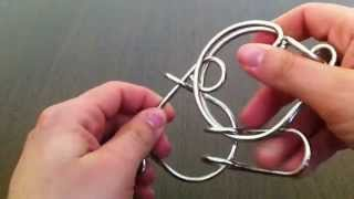 Solution for G Factor from Puzzle Master Wire Puzzles